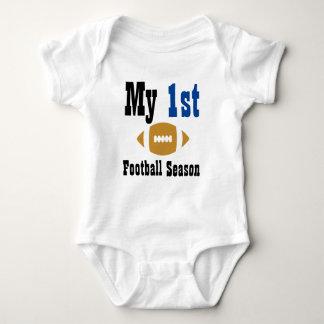 My First Football Season Baby Bodysuit