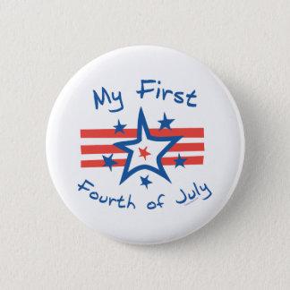 My First Fourth 2 Inch Round Button