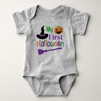 My First Halloween Baby Jersey Bodysuit