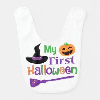 My First Halloween Bib , Halloween Baby Bib