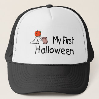 My First Halloween (Trick or Treat) Trucker Hat