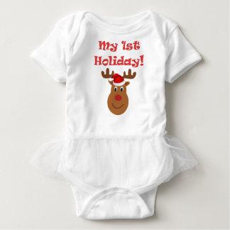 My First Holiday baby Tutu Dress