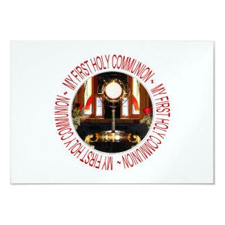 "My First Holy Communion 3.5"" X 5"" Invitation Card"