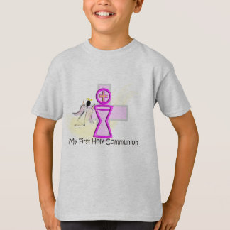 My First Holy Communion Chalice and Angel T-Shirt