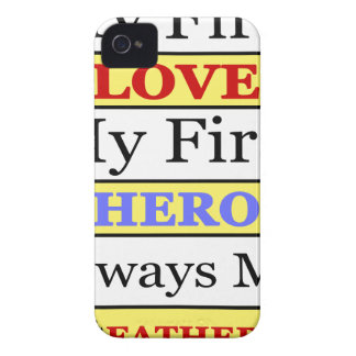 My First Love My First Hero Always My Dad iPhone 4 Case