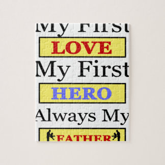 My First Love My First Hero Always My Dad Puzzles