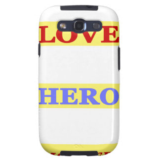My First Love My First Hero Always My Mother Samsung Galaxy S3 Cover