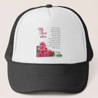 My First Love Poem Trucker Hat