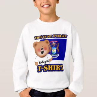 My First Michigan Teddy Bear Shirt