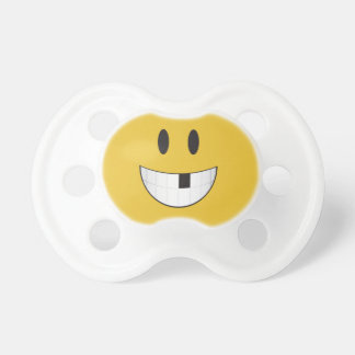 My first missing tooth emoji pacifier