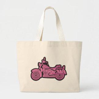 My First Pink Motorcycle Jumbo Tote Bag