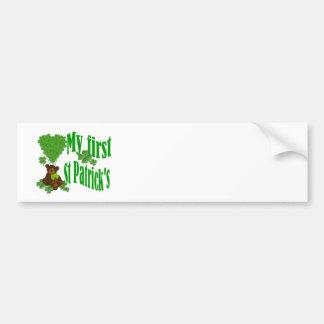 My first St Patrick s Bumper Sticker