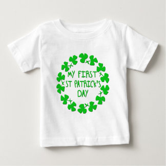 My First St. Patrick's Day Baby T-Shirt