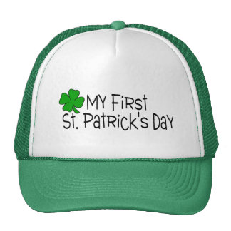My First St Patricks Day Hat