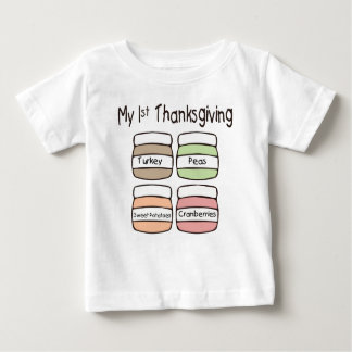 My First Thanksgiving T-Shirt