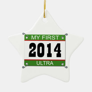 My First Ultra - 2014 Ceramic Ornament