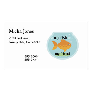 My Fish My Friend Business Card