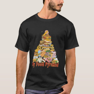 My Food Pyramid ~ Junk Food Snacks T-Shirt