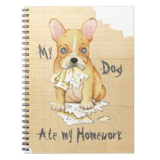 My French Bulldog Ate My Homework Notebook