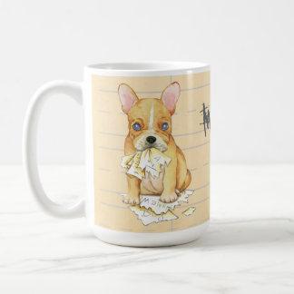 My Frenchie Ate My Homework Coffee Mug