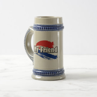 My Friend Beer Stein