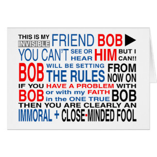 My Friend Bob Card