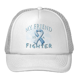My Friend is a Fighter Light Blue Hat