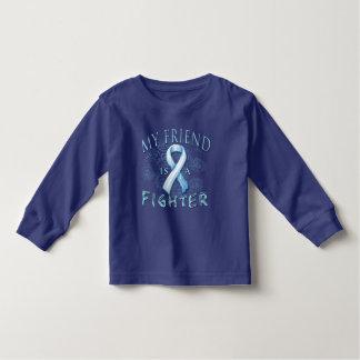 My Friend is a Fighter Light Blue Toddler T-shirt