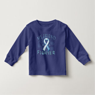 My Friend is a Fighter Light Blue Tshirt