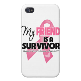 My Friend is a Survivor - Breast Cancer Case For iPhone 4