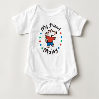 My Friend Maisy Colorful Circle Design Baby Bodysuit