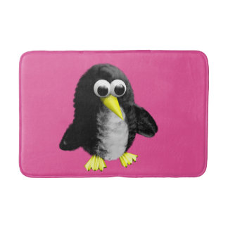 My friend the penguin bathroom mat