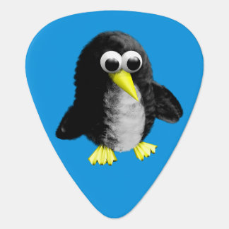 My friend the penguin guitar pick