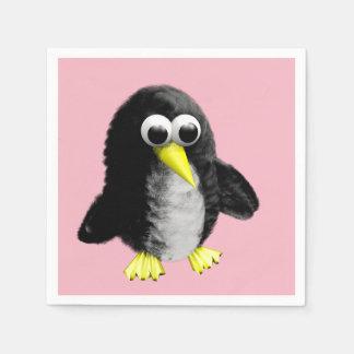 My friend the penguin paper napkin