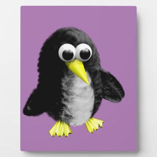 My friend the penguin plaque