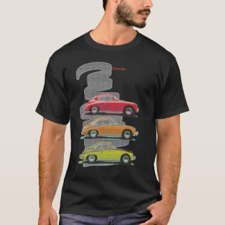 my friends all drive porsches janis joplin T-Shirt
