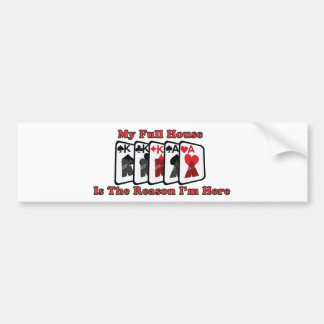 My Full House is the reason I'm here Bumper Sticker