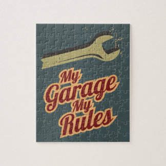 My Garage My Rules Jigsaw Puzzle
