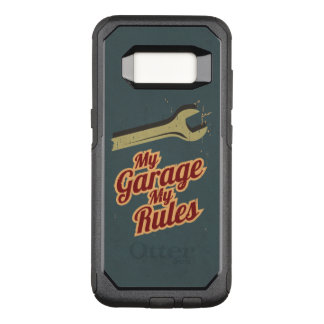 My Garage My Rules OtterBox Commuter Samsung Galaxy S8 Case