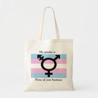 My Gender is None of Your Business Tote