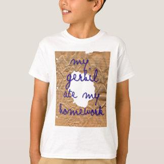 My Gerbil Ate My Homework Tshirts