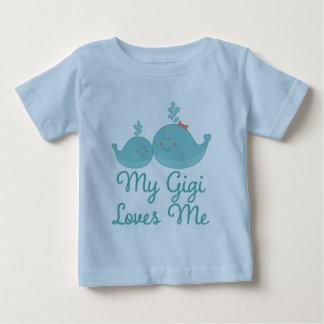 My Gigi Loves Me grandchild gift t-shirt