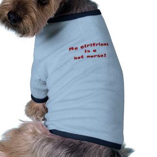 My Girlfriend is a Hot Nurse Dog Tee Shirt