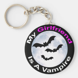 My Girlfriend Is A Vampire Keychain