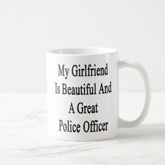 My Girlfriend Is Beautiful And A Great Police Offi Coffee Mug