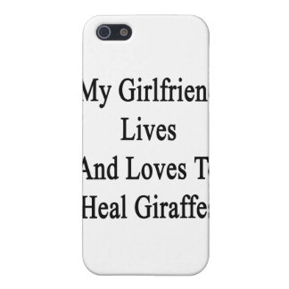 My Girlfriend Lives And Loves To Heal Giraffes Case For iPhone 5