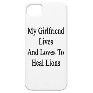 My Girlfriend Lives And Loves To Heal Lions iPhone 5 Covers