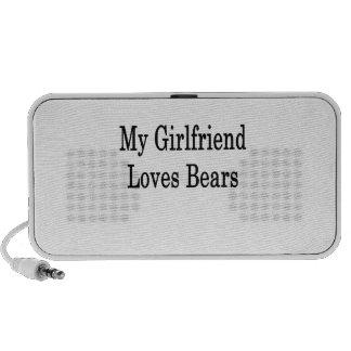 My Girlfriend Loves Bears Notebook Speakers