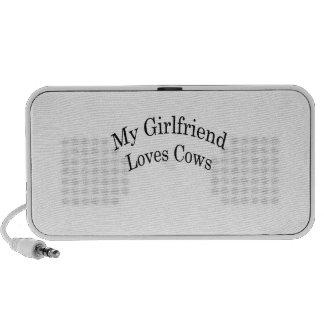 My Girlfriend Loves Cows Mini Speakers