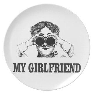 my girlfriend plate